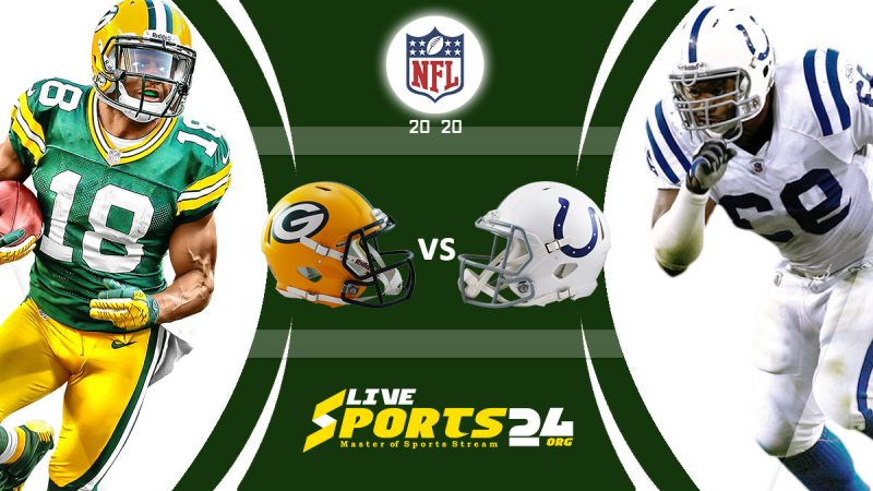 Packers vs Colts live