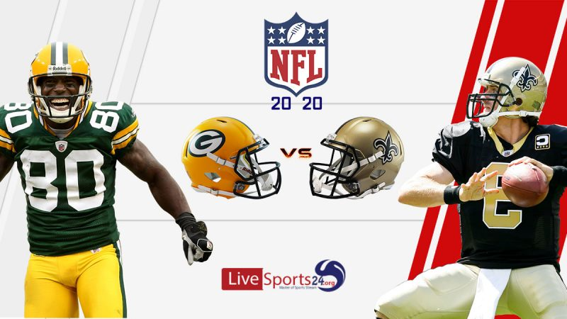 Packers vs Saints live