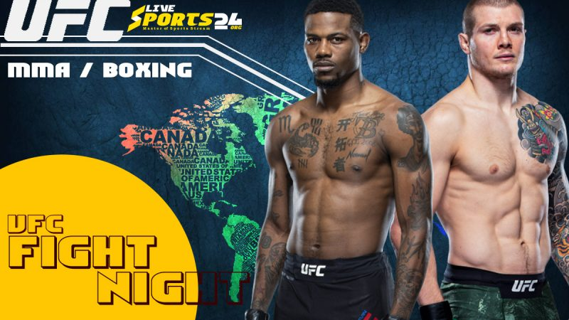 UFC Holland vs Vettori Live