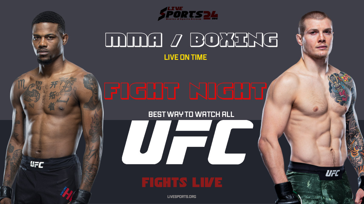 Holland vs Vettori | How to Watch UFC Holland vs Vettori on Firestick For Free