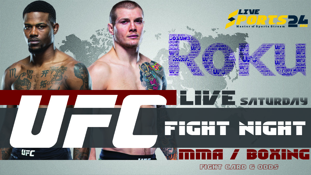 Holland vs Vettori | How to Watch UFC Holland vs Vettori on Roku For Free