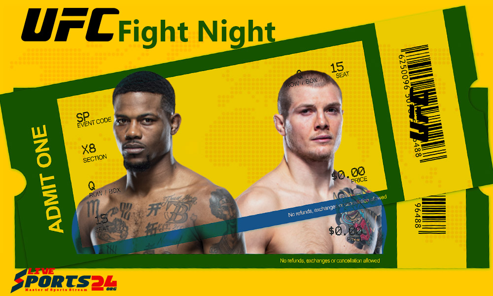 Must be considered in Buying UFC Holland vs Vettori Tickets online