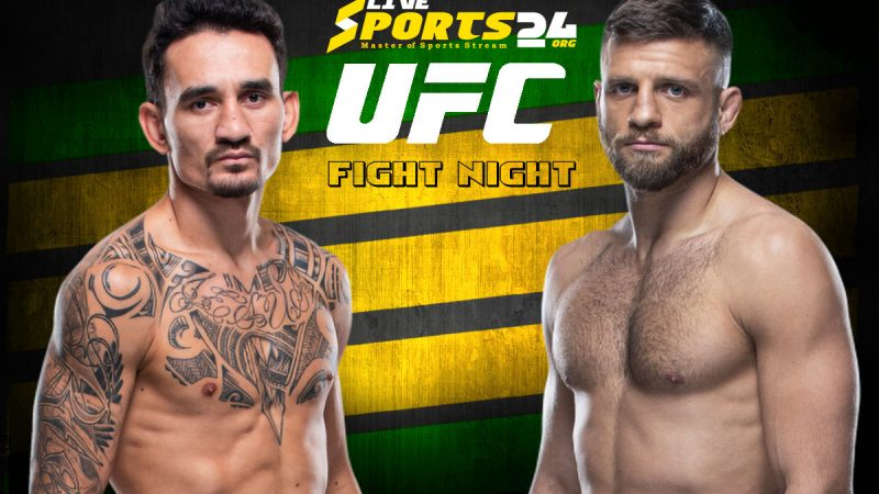 UFC Holloway vs Kattar Live