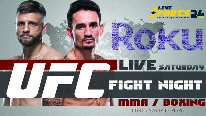 Watch UFC Holloway vs Kattar on Roku