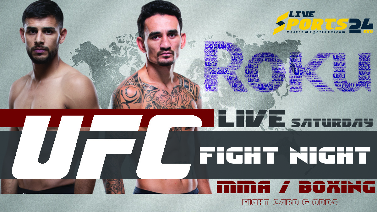 Holloway vs Rodriguez | How to Watch UFC Fight Night 191 on Roku For Free