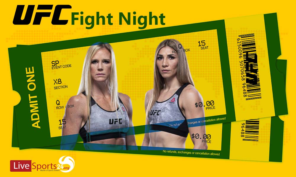 Must be considered in Buying UFC Holm vs Aldana Tickets online