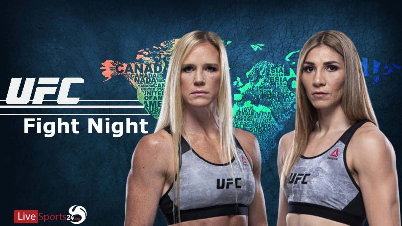 watch UFC Holm vs Aldana live