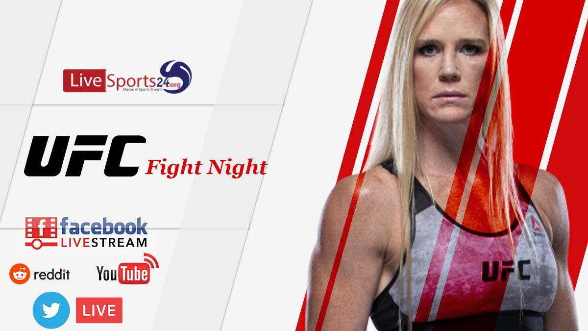 How Can UFC Holm vs Aldana Live Stream Reddit, Facebook, Twitter, YouTube