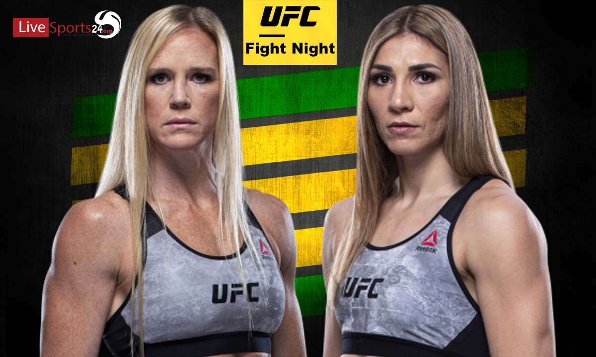 Holm vs Aldana Fight: What we to know about UFC Fight Night Fight Card