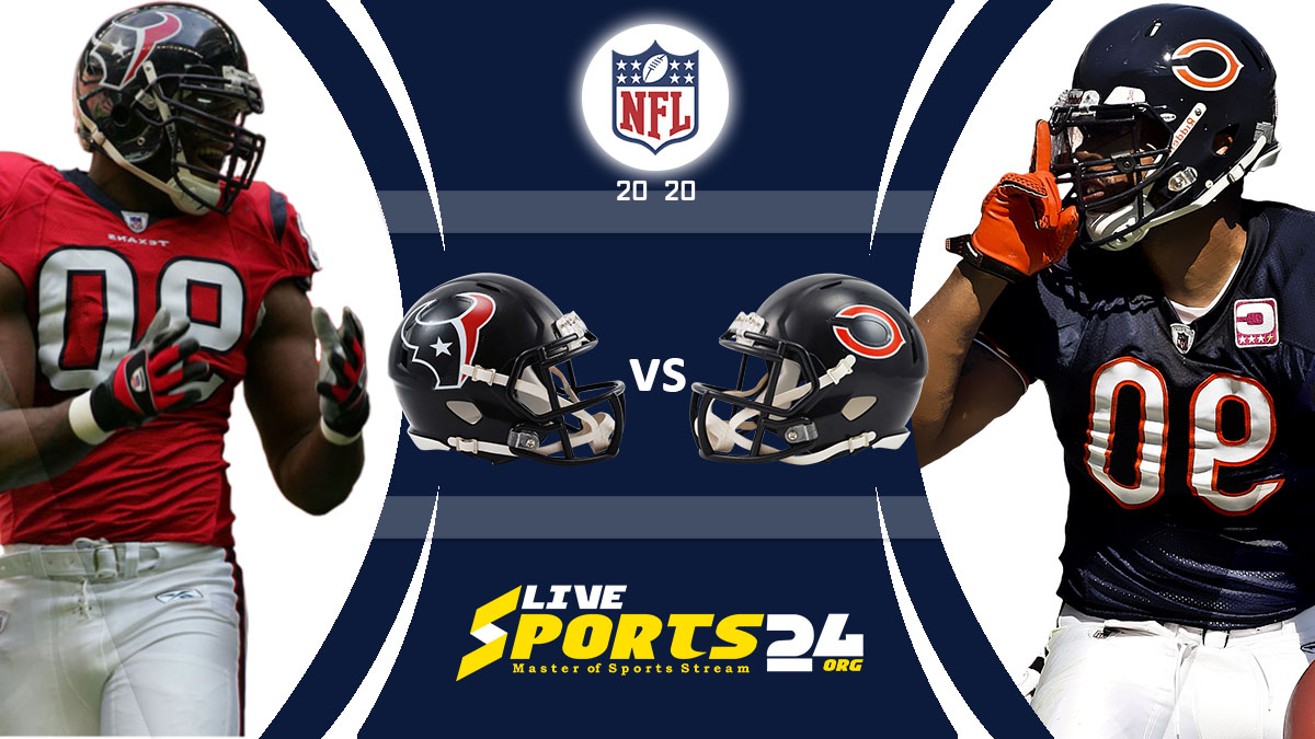 Texans vs Bears Live: How to watch Houston vs Chicago live Prediction & odds