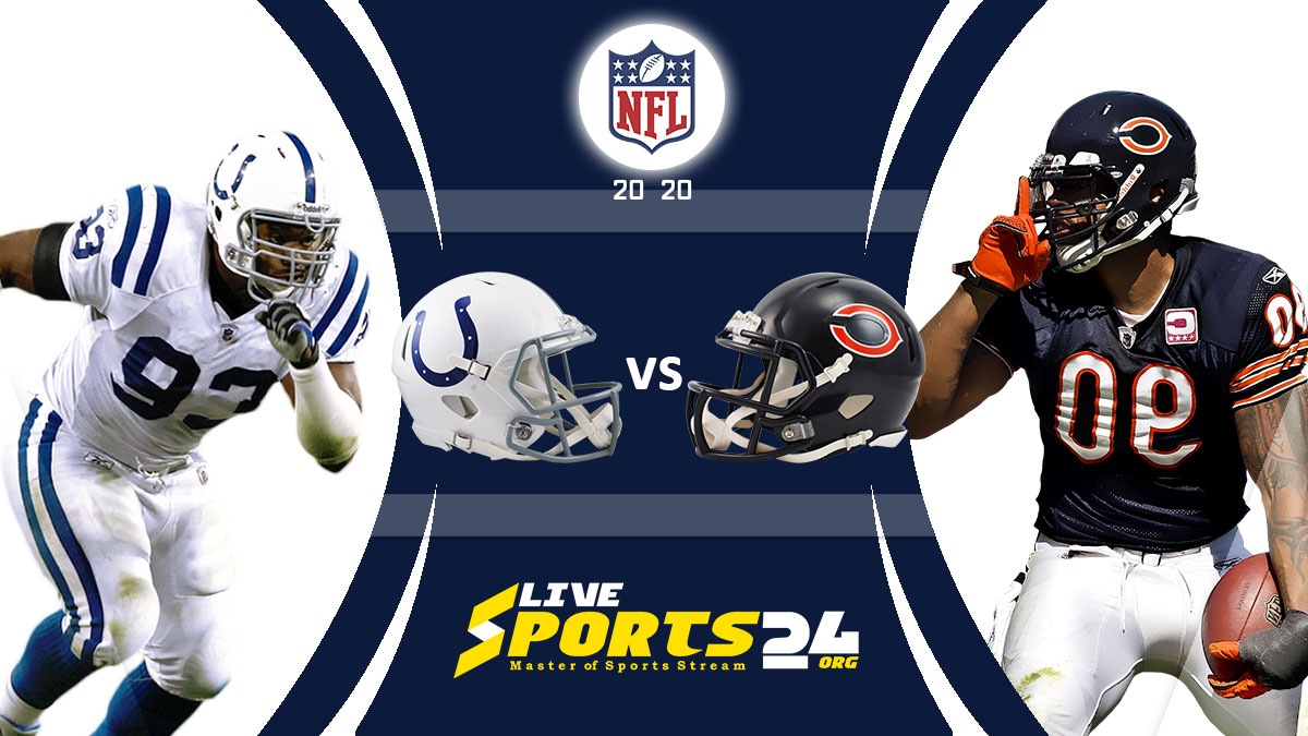 Colts vs Bears Live : How to watch Indianapolis vs Chicago live Prediction & odds