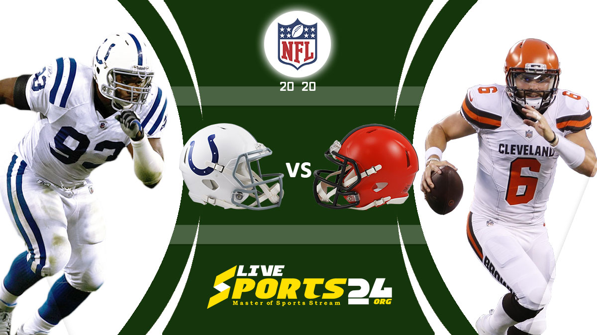 Colts vs Browns Live: How to watch Indianapolis vs Cleveland live Prediction & odds