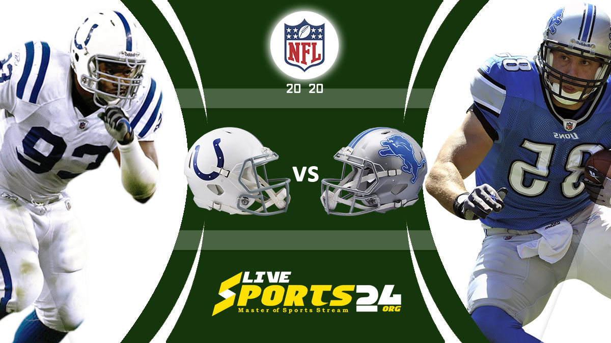 Colts vs Lions Live: How to watch Indianapolis vs Detroit live Prediction & odds