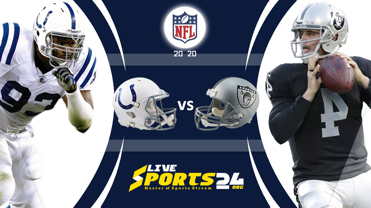 Colts vs Raiders Live: How to watch Indianapolis vs Las Vegas live Prediction & odds