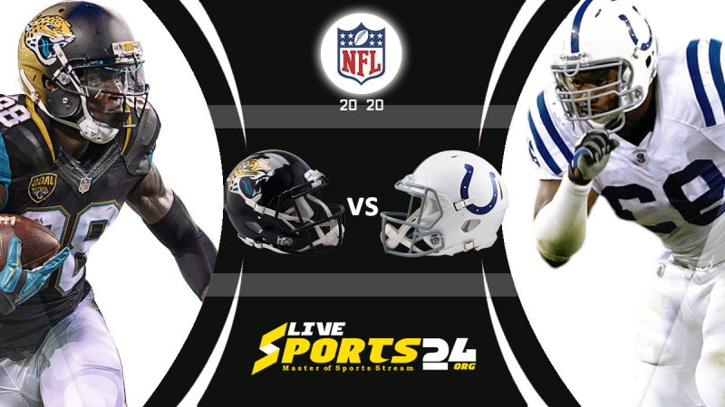 Jaguars vs Colts live