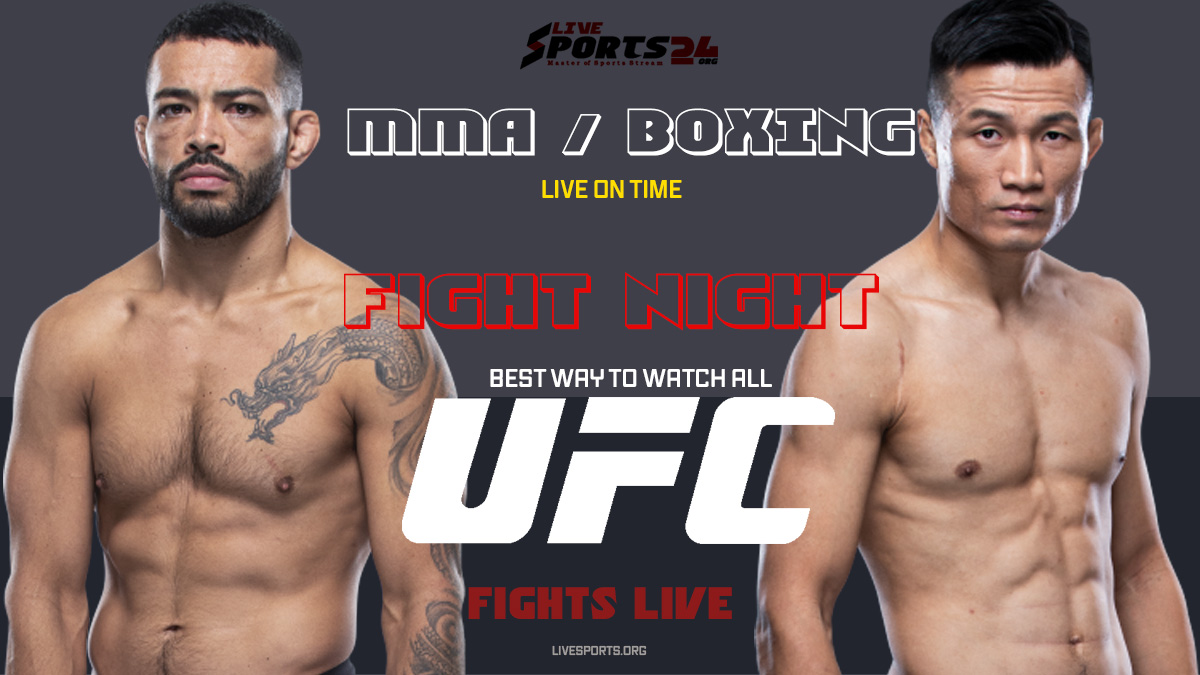 Jung vs Ige | How to Watch UFC Fight Night on Firestick For Free 2021