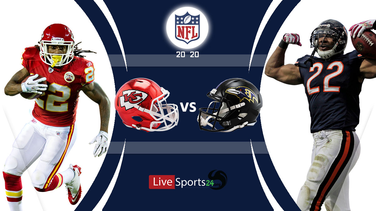 Chiefs vs Ravens Live: How to watch Kansas City vs Baltimore live Prediction & odds