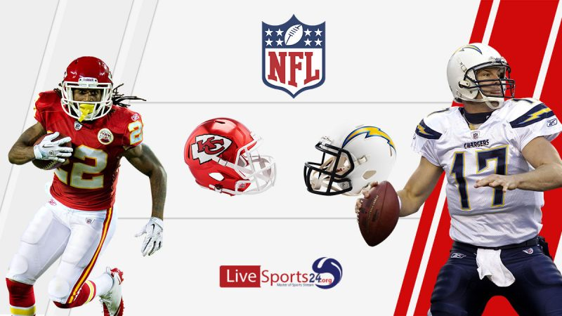 Chiefs vs Chargers live