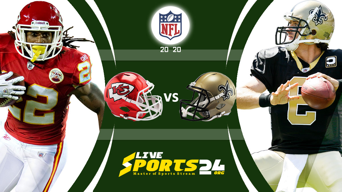 Chiefs vs Saints Live: How to watch Kansas City vs New Orleans live Prediction & odds