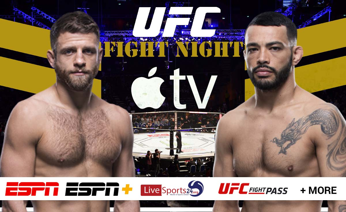 Kattar vs Ige | How to Watch UFC Kattar vs Ige on Apple TV For Free