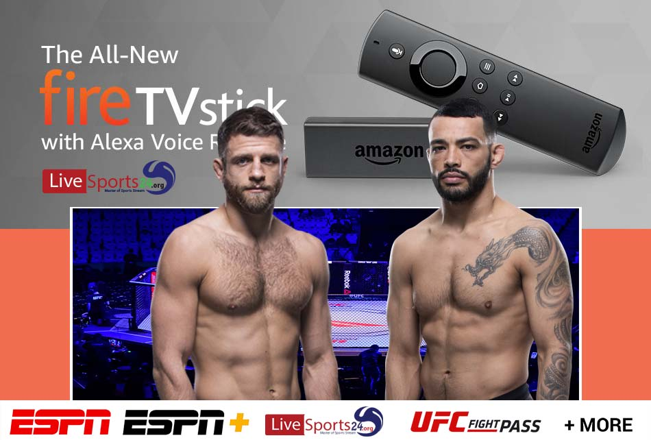 Kattar vs Ige | How to Watch UFC Kattar vs Ige on Firestick For Free