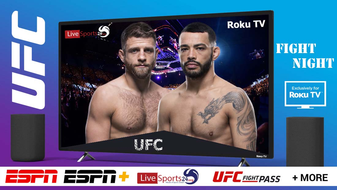 Kattar vs Ige | How to Watch UFC Kattar vs Ige on Roku For Free