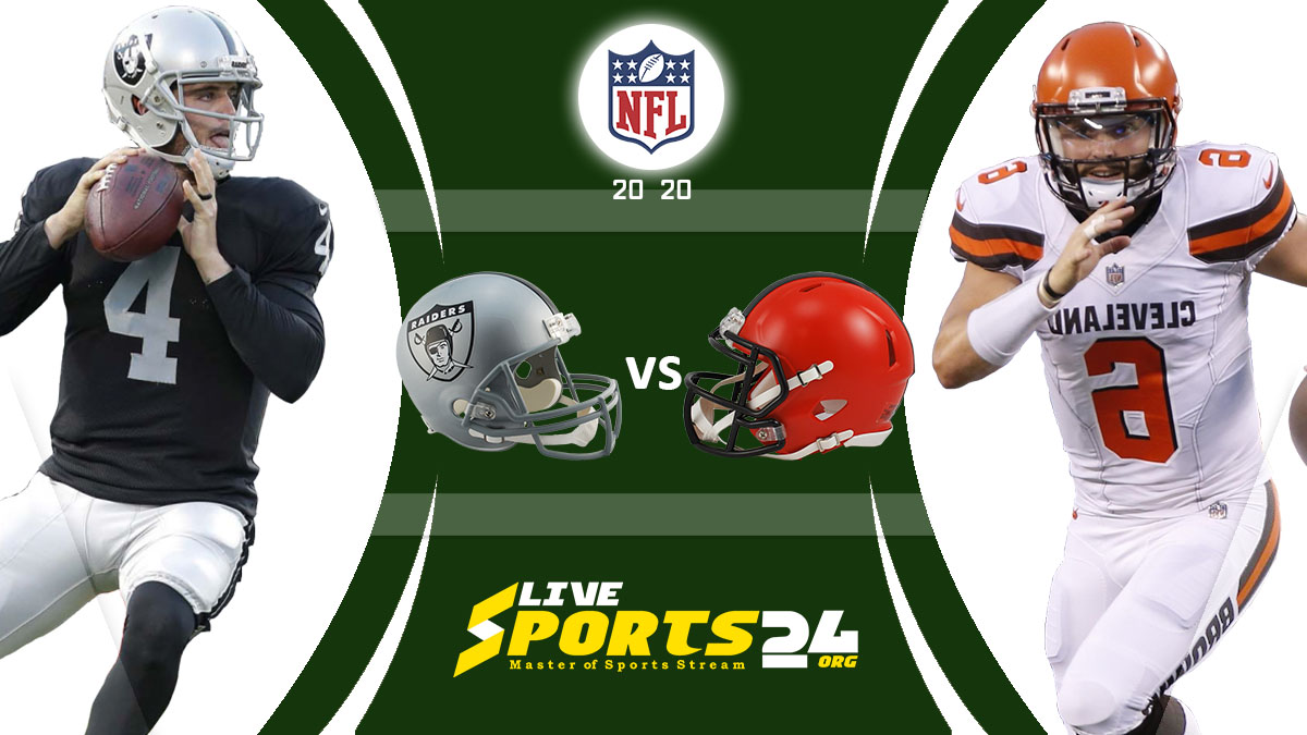 Raiders vs Browns Live: How to watch Las Vegas vs Cleveland live Prediction & odds