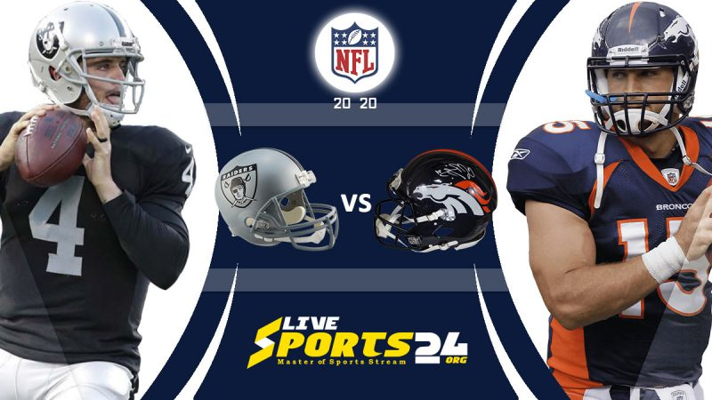 Raiders vs Broncos live
