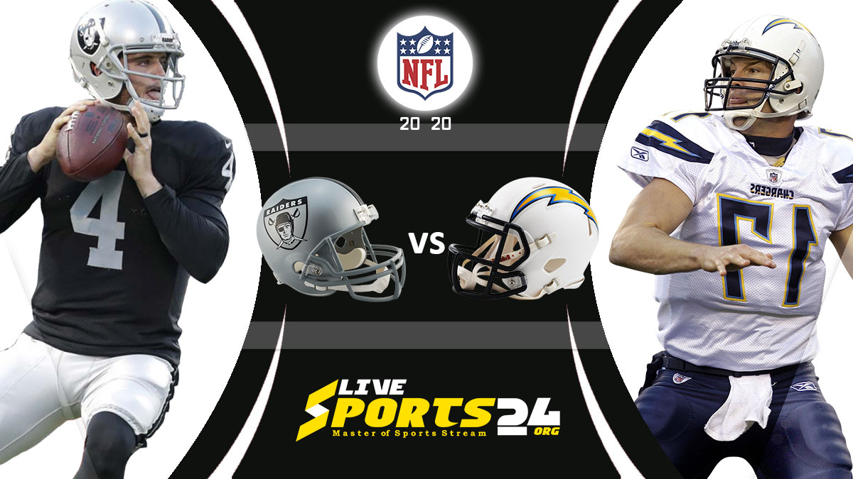 Raiders vs Chargers Live: How to watch Las Vegas vs Los Angeles live Prediction & odds