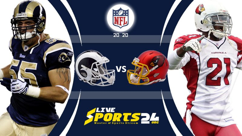 Cardinals vs Rams live