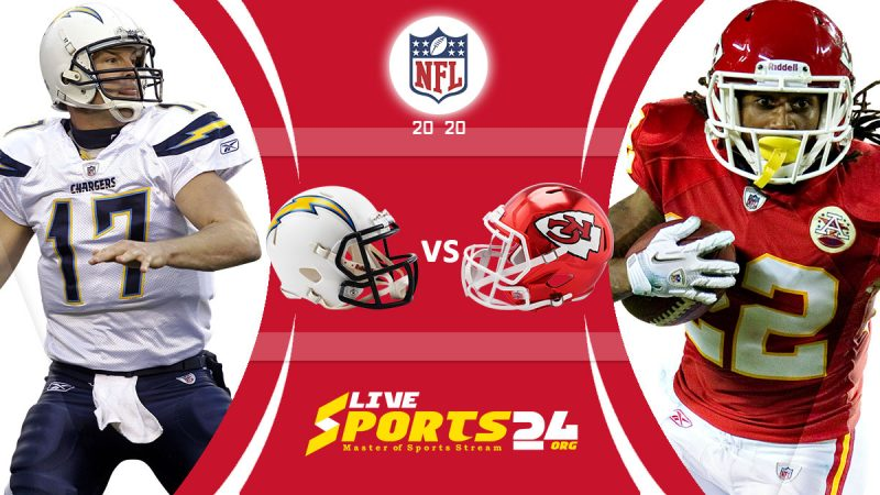 Chargers vs Chiefs live