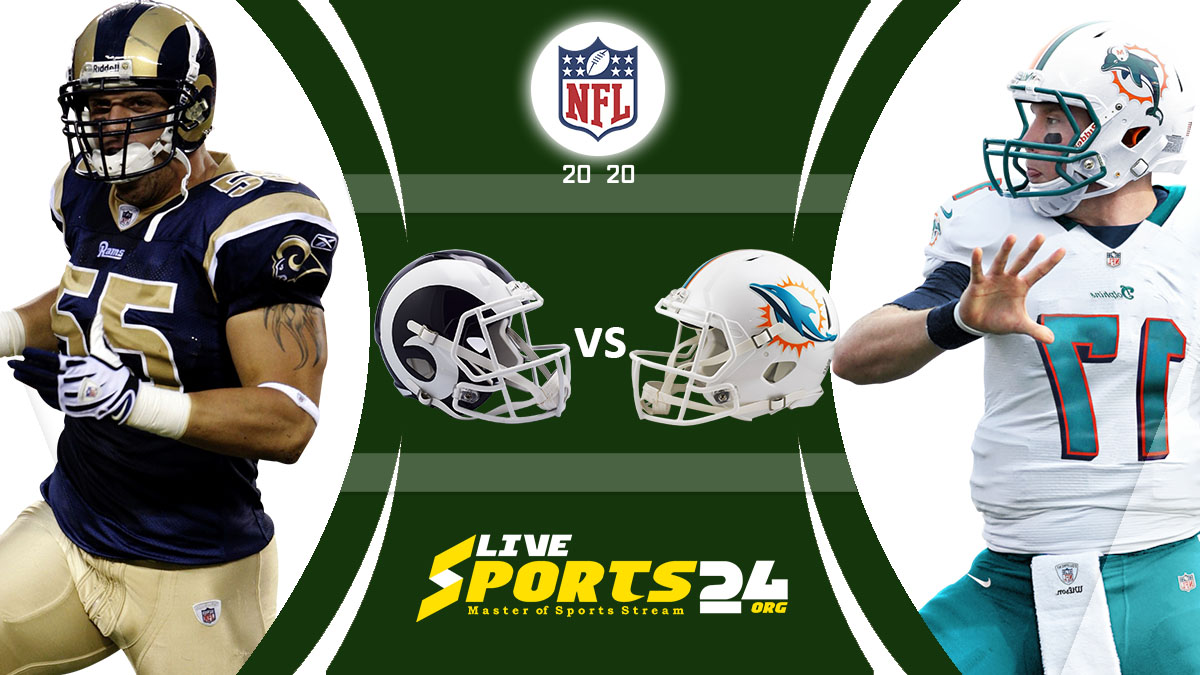 Rams vs Dolphins Live: How to watch Los Angeles vs Miami live Prediction & odds