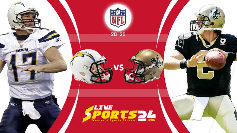 Chargers vs Saints live