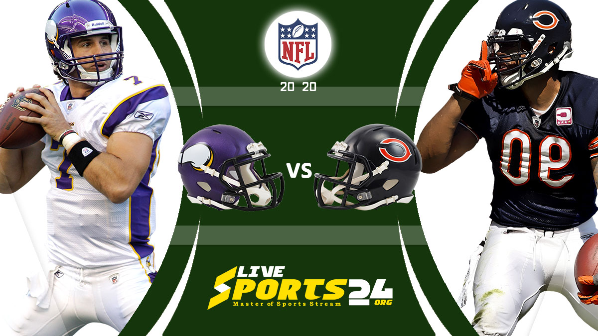 Vikings vs Bears Live: How to watch Minnesota vs Chicago live Prediction & odds