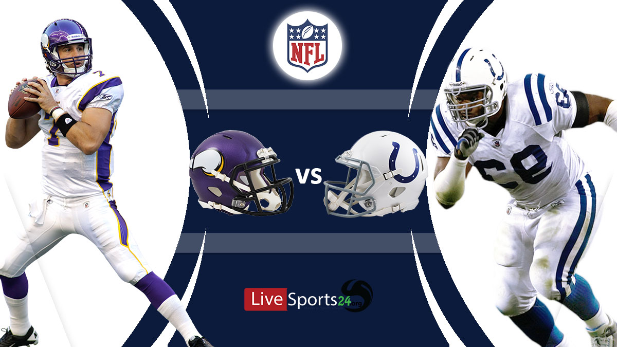 Vikings vs Colts Live: How to watch Minnesota vs Indianapolis live Prediction & odds