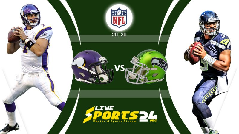Vikings vs Seahawks live