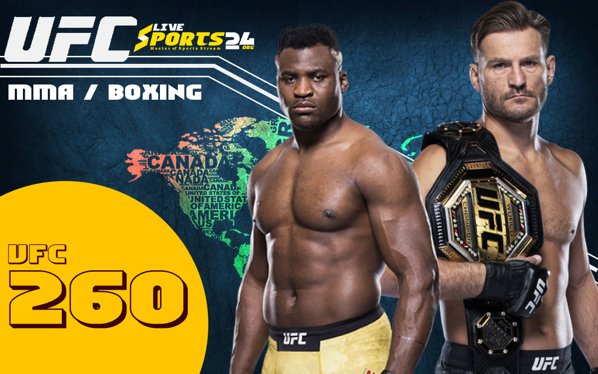 How to Watch UFC 260 From Anywhere in the World?
