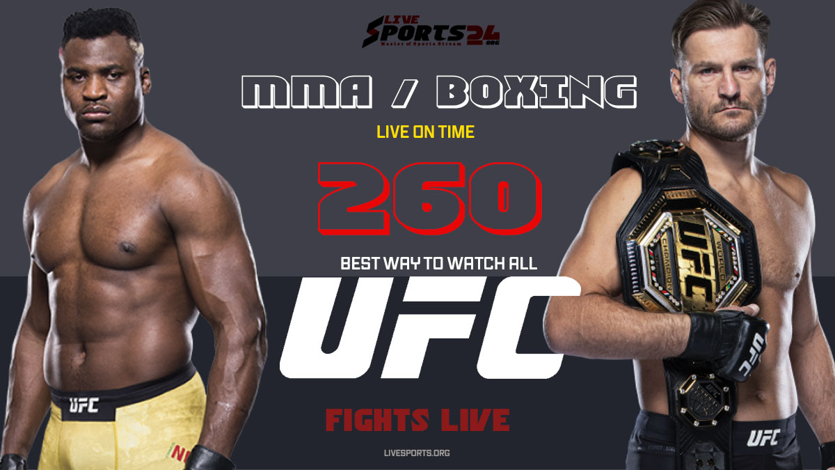 Miocic vs Ngannou | How to Watch UFC 260 on Firestick For Free