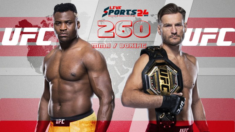 How to Watch UFC Holland vs Vettori