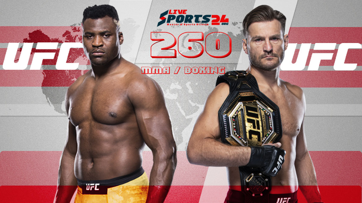 UFC 260 Live | How to Watch Miocic vs Ngannou Online without Cable?