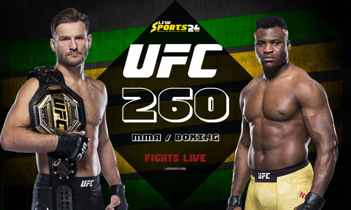 Miocic vs Ngannou Fight: What we to know about UFC 260 Fight Card