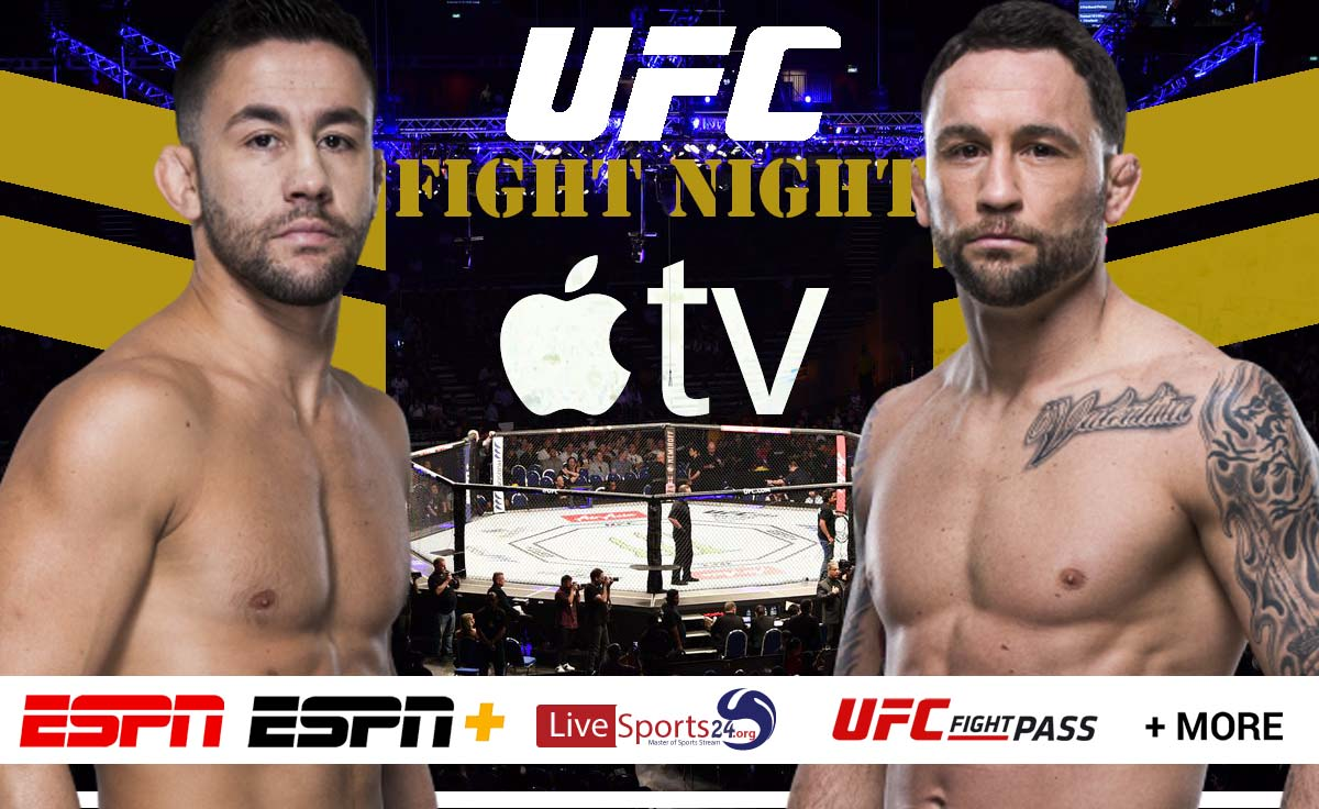 Munhoz vs Edgar | How to Watch UFC Munhoz vs Edgar on Apple TV For Free