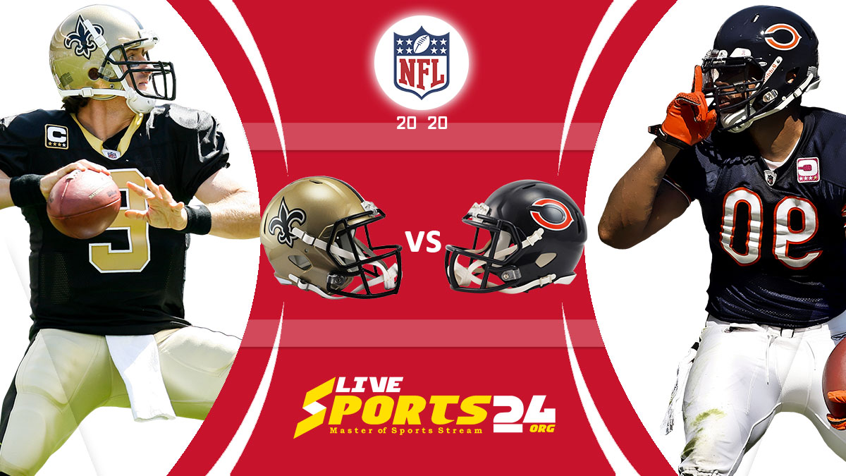 Saints vs Bears Live: How to watch New Orleans vs Chicago live Prediction & odds