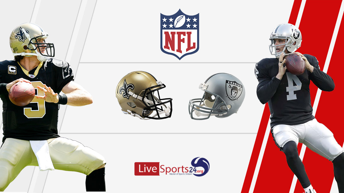 Saints vs Raiders Live: How to watch New Orleans vs Las Vegas live Prediction & odds