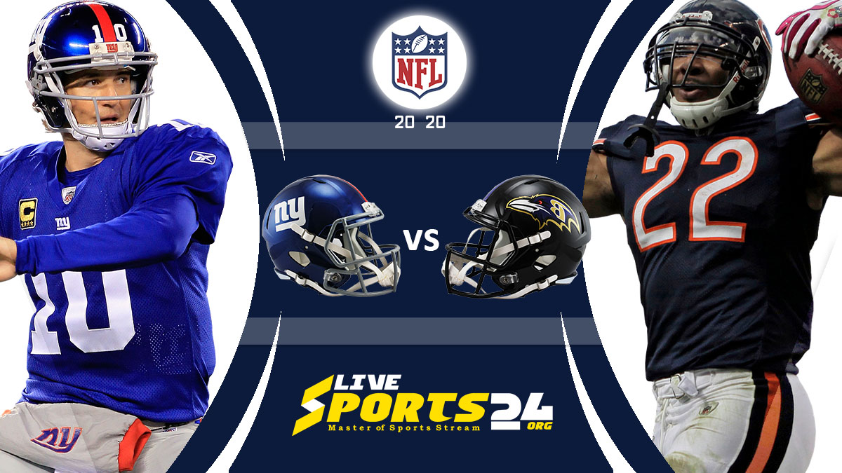 Giants vs Ravens Live: How to watch New York vs Baltimore live Prediction & odds