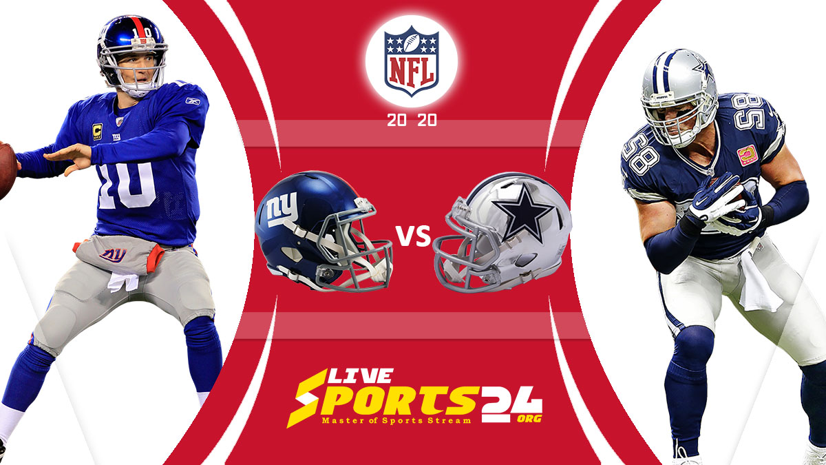 Giants vs Cowboys Live: How to watch New York vs Dallas live Prediction & odds