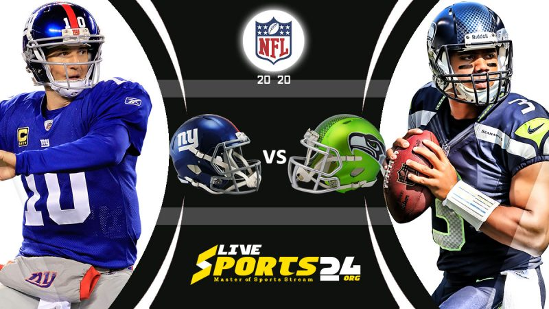 Giants vs Seahawks live