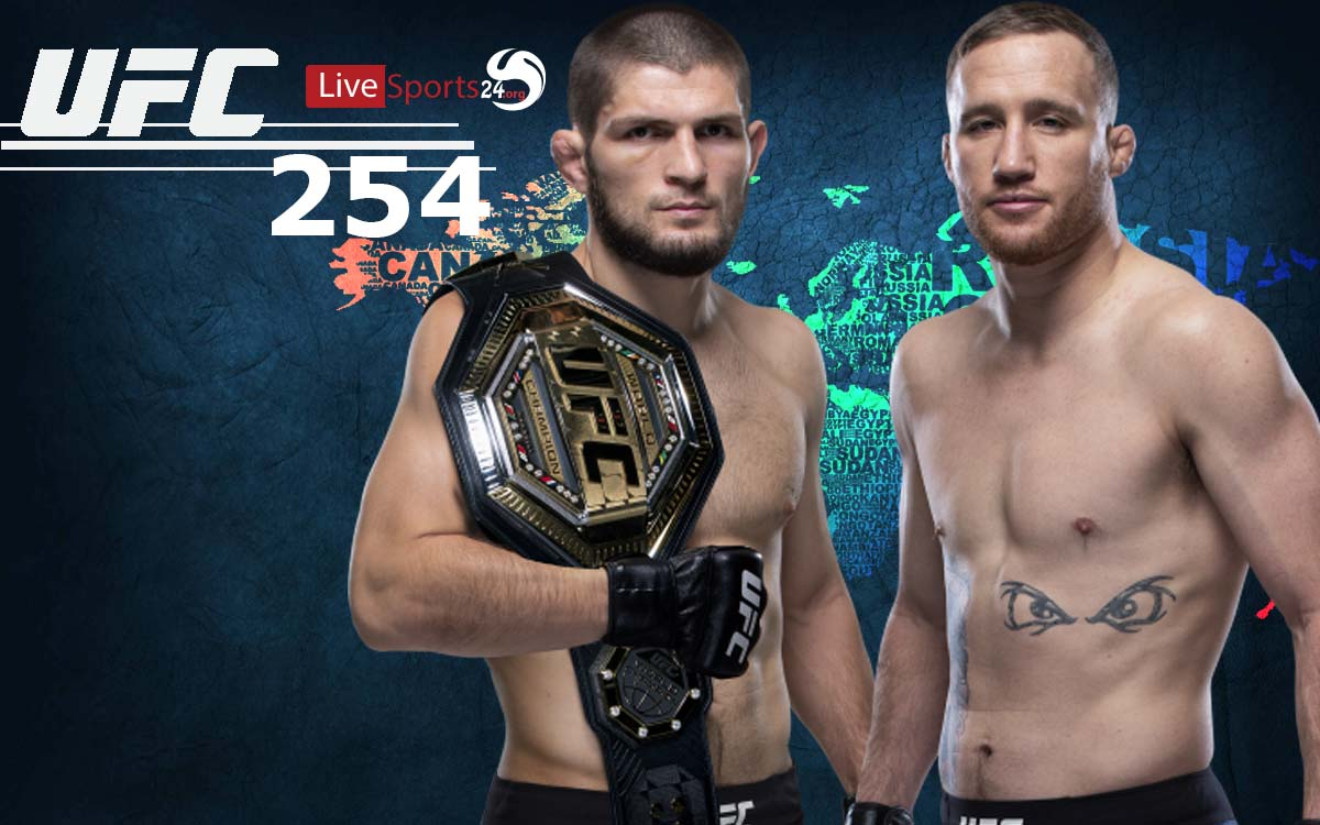 How to Watch UFC 254 From Anywhere in the World?