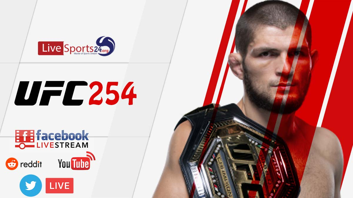 How Can UFC 254 Live Stream Reddit, Facebook, Twitter, YouTube