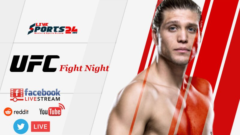 Watch UFC Ortega vs Jung Live
